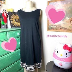 J. Jill A-Line Cotton Rayon Shift Dress